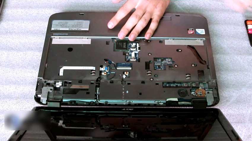 تعمیر لپ تاپ ایسر aspire 5738