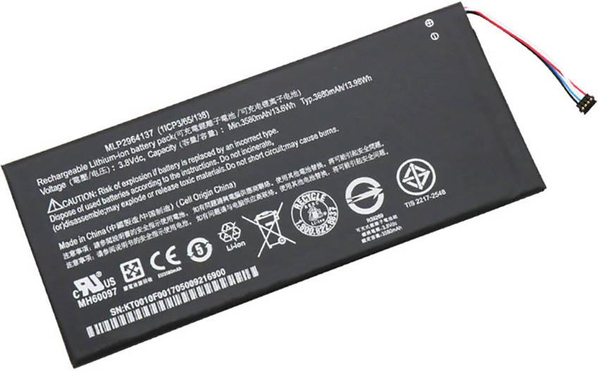 تعویض باتری تبلت ایسر